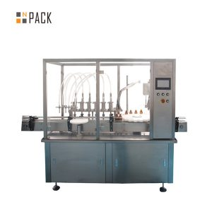 آلة تعبئة الزيت العطري الأوتوماتيكية أحادية الكتلة