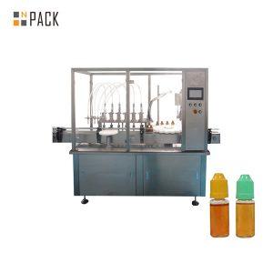 آلة تعبئة السائل المضخة التمعجية لزجاجة صغيرة فيال