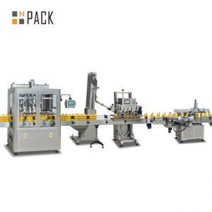 مربى ملء آلة المكبس ، التلقائي ملء آلة صلصة الساخنة ، خط إنتاج صلصة الفلفل الحار