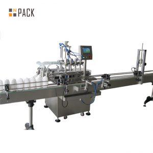 آلة تعبئة زيت الطعام الأوتوماتيكية سعة 5 لتر