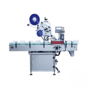 آلة وسم الحاويات المستديرة الأوتوماتيكية من النوع العمودي